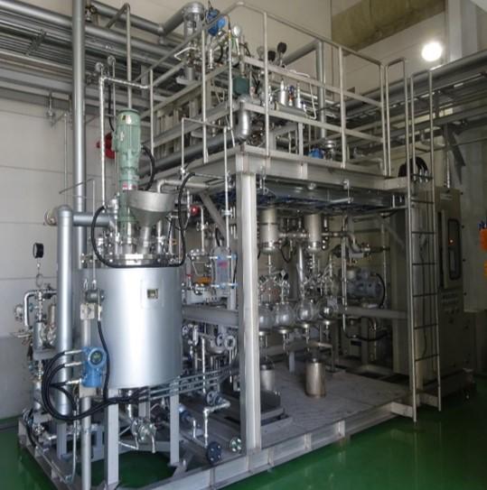 薄膜蒸発 テスト装置