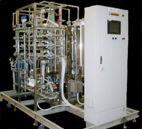 連続膜分離試験装置